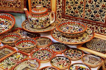 Classical armenian ceramics