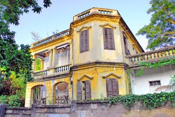 Xiamen Gulang-yu island old Portuguese house