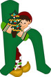 h green alphabet