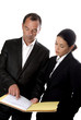 business contrat signature