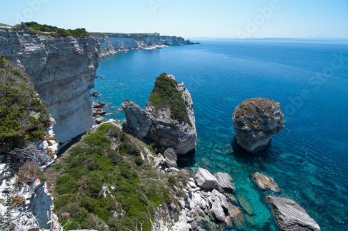 Kreidefelsen Bonifacio Korsika