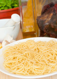 Cooking of Spaghetti poster