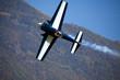 aereo acrobatico in virata