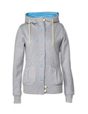 Girl Hoody AquaGray