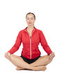 Frau beim Meditieren