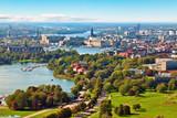 Aerial panorama of Stockholm, Sweden - Fine Art prints