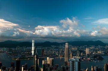 Fogless view of Hong Kong