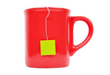 Mug and tea bag