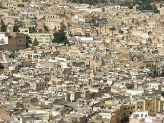 Fez Maroko świat anten satelitarnych