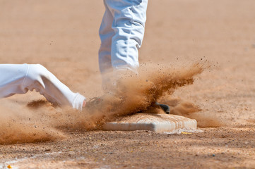 Sliding into Third Base