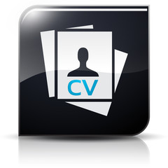 Symbole glossy vectoriel CV