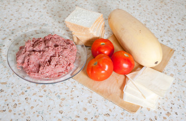 food products for stuffed vegetable marrow