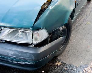 car wreck detail