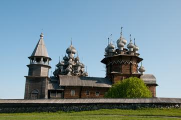 Karelia. Beautiful Kizhi island