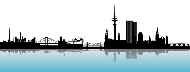 Hamburg Skyline Alster