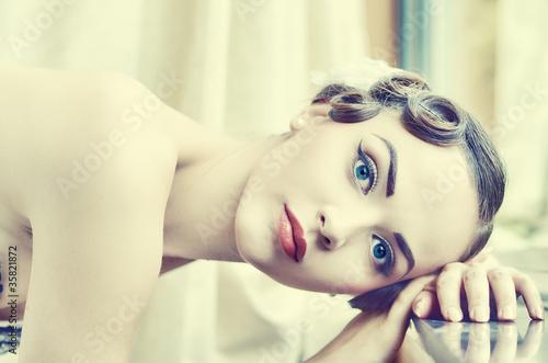 Fototapeten,erwachsen,attraktiv,belle,schönheit