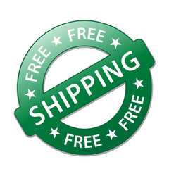 """FREE SHIPPING"" Marketing Stamp (delivery service express home)"