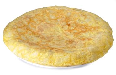 Tortilla casera.