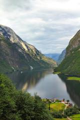 Norway fjord - Naeroyfjord