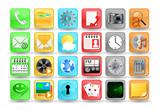 sada ikon aplikace