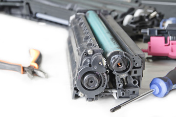 service laser toner cartridge