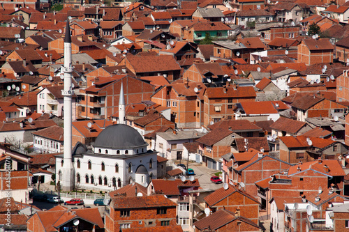 Mosque in the city of Prizren, Kosovo