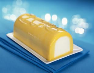 Bûche glacée mangue-citron