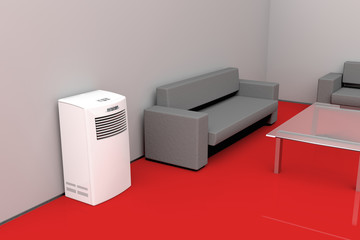 Modern living room - cooling concept