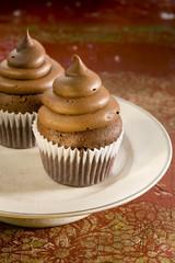 Petits cakes au chocolat et au café