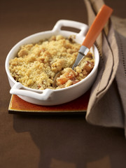 Crumble aux coings