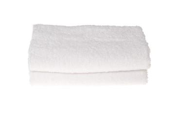 Zwei weiße Handtücher