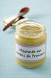 Bocal de moutarde aux herbes de Provence
