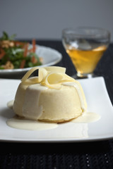 Flan au fromage