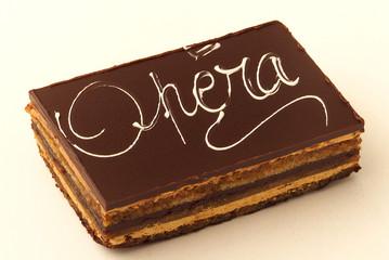 opéra gâteau au chocolat