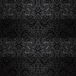 black paisley pattern