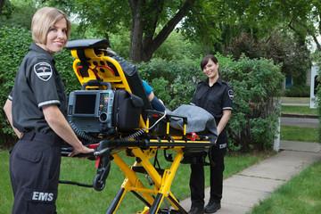 Female Ambulance Worker