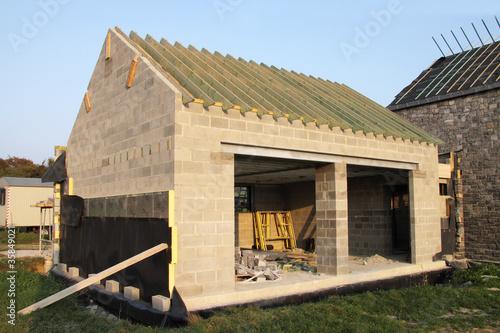 construction maison campagne avec garage de mariesacha. Black Bedroom Furniture Sets. Home Design Ideas