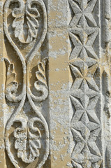 Detail od ancient church (Normandy)