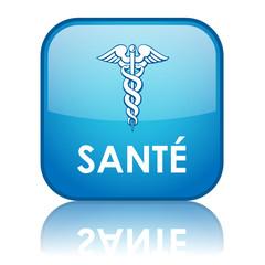 Bouton Web SANTE (médecine forme bonne santé exercice poids)
