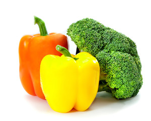 different delicious summer vegetables