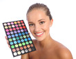 Beautiful make up artist eyeshadow colour palette