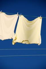 T-shirts drying
