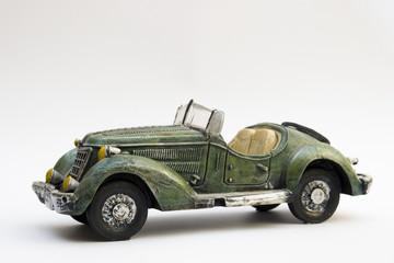 reproducción de coche antiguo