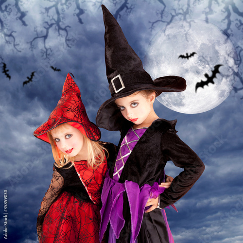 halloween costumes kid girls on moon night