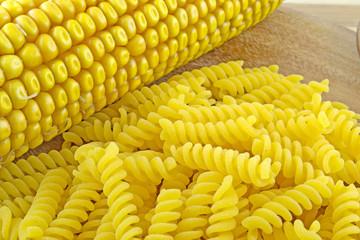 Pasta di mais senza glutine