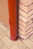Rainwater pipe. poster