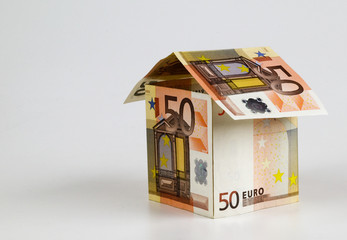 house built out of EUROS