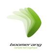 Logo boomerang # Vector