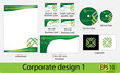 Corporate design vector pack