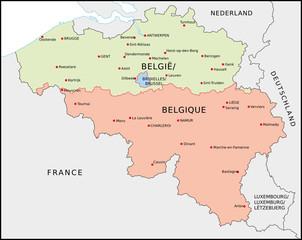 Belgien, Regionen